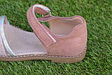 Детские босоножки сандали сандалии для девочки бежевые р31-36, фото 2