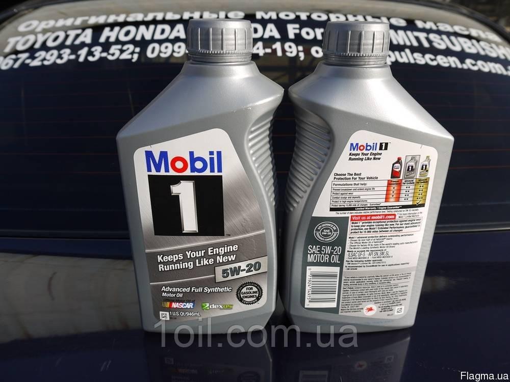 Масло моторное Mobil 5w-20 (США)     0,946мл