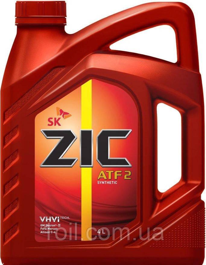 Масло трансмиссионное Zic ATF II 4л