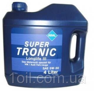 Масло моторное ARAL SuperTronic LongLife III 5w30 1L