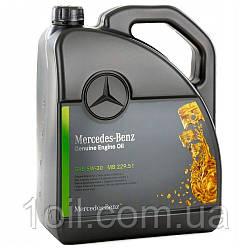 Масло моторное Mercedes-Benz  5w-30  A0009899701BAA4 MB 229.51    5л