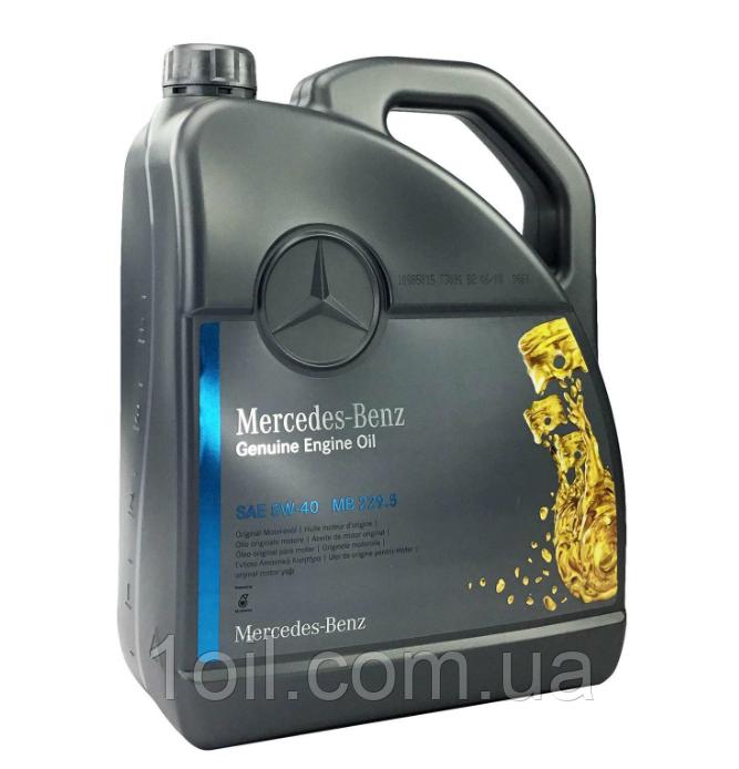 Масло моторное Mercedes-Benz 5w-40    0009898301BAA4  MB 229.5     5л