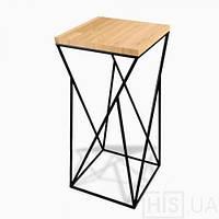 """Стул барный """"Слим"""",  высокий стул, стул лофт, стул для баров, кафе, ресторанов, стул из металла"""
