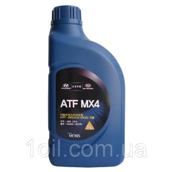 Масло трансмиссионное  для АКПП ATF  MX4  ( JWS 3314) 1л