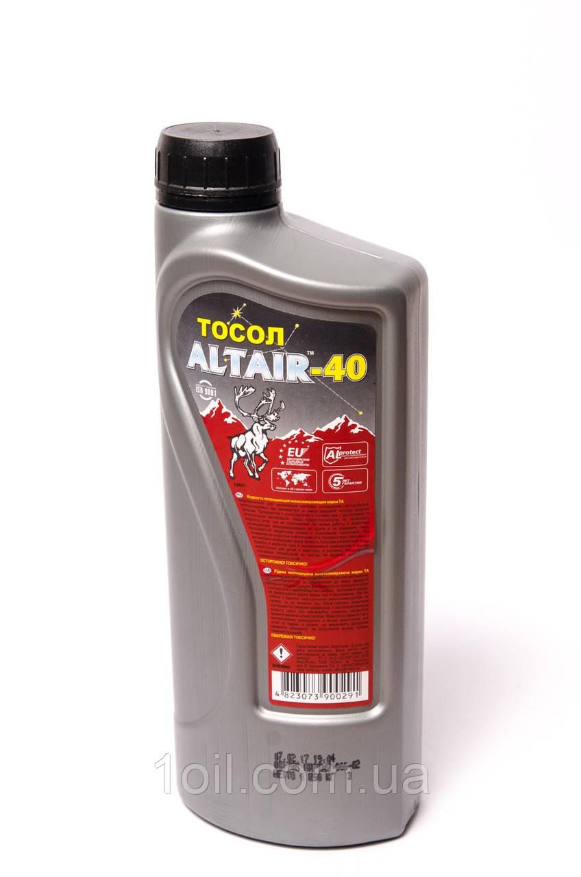 Охлаждающая жидкость (готовая) Тосол Альтаир 1л