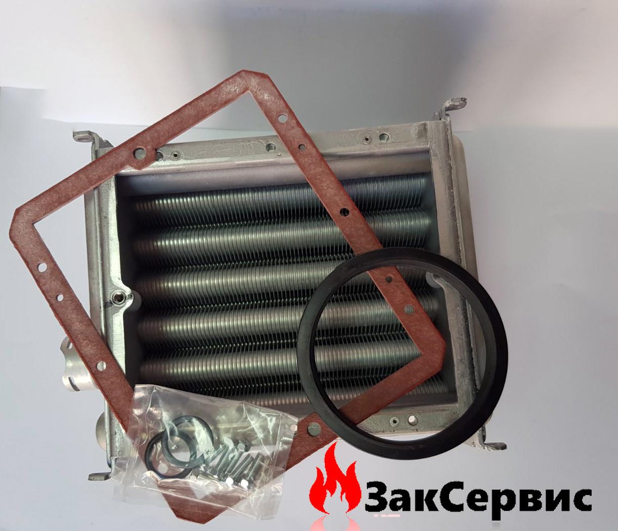 Главный теплообменник на конденсационный газовый котел Chaffoteaux ALIXIA GREEN 30 кВ