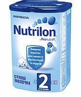 Суміш молочна суха Nutrilon 2 для дітей від 6 до 12 місяців 800 гр.