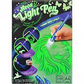 """Набір креативного творчості """"NEON LIGHT PEN"""" для малювання ультрафіолетом """"РУС"""""""
