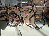 Горный велосипед Azimut Spark Азимут Спарк 29 дюймов D черно-синий