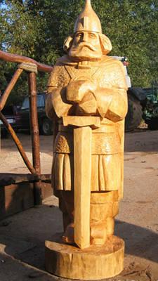 Скульптури з Дерева. Дерев'яні вироби.