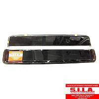 Дефлекторы (ветровички) стекла двери черные (к-кт из 2шт) (СТМ S.I.L.A.) РА-5320