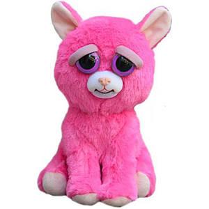 Интерактивная игрушка Feisty Pets Добрые Злые зверюшки Розовая Кошка 20 см (SUN0138)
