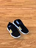 Кросівки чорні дитячі універсальні для дівчинки та хлопчика, фото 4