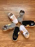Кросівки чорні дитячі універсальні для дівчинки та хлопчика, фото 2