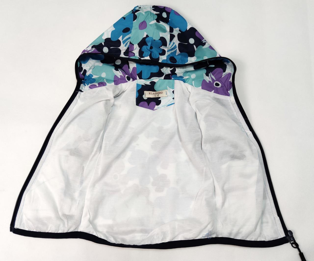 курточка для девочки вид подкладка