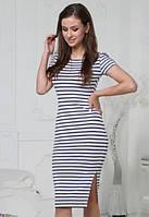 Платье женское в полоску Регина, фото 1