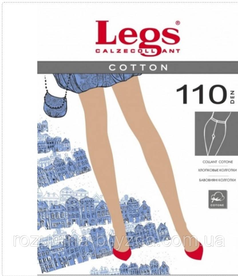Колготи 110 ден чорного кольору TM Legs Розмір 2,4