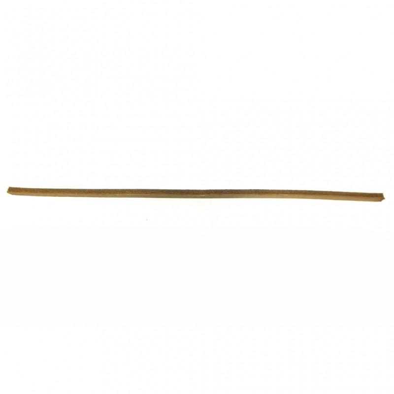 Полукольцо сальника шкворня (кожа) (Н.Челны) 5320-3001029