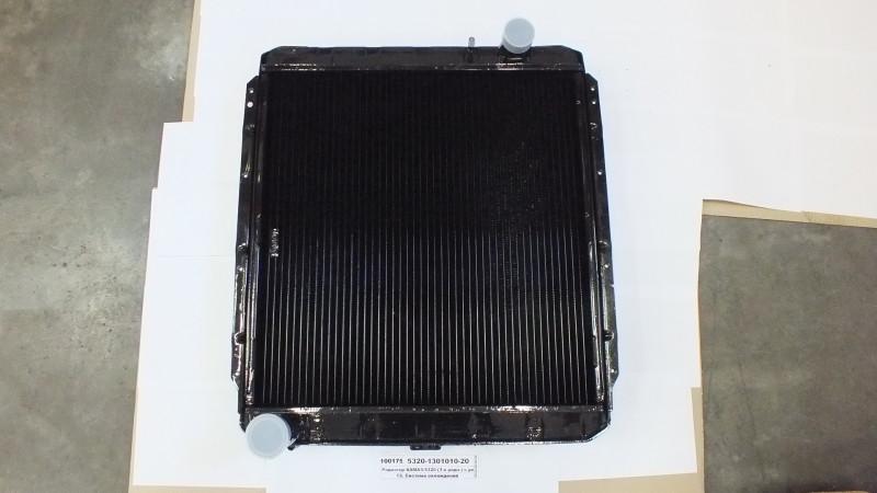 Радиатор КАМАЗ-5320 (3-х рядн.) (ШААЗ уни) 5320-1301010-20