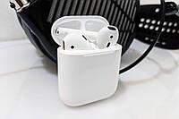 Наушники Apple AirPods 2 Wireless Charging Bleutooth Гарнитура Безпровідні навушники
