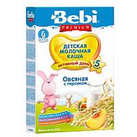 Молочна каша Bebi вівсяна з персиком 250 г (1008831)
