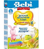 Молочна каша Bebi фруктово-злакове асорті 250 г (1008830)