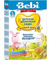 Молочна каша Bebi фруктово-злакова асорті 250 г (1008834)