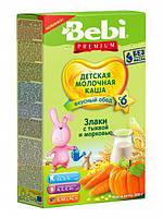 Молочна каша Bebi Злаки з гарбузом і морквою 200 г (1008804)