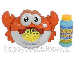Игрушка для пускания мыльных пузырей Краб