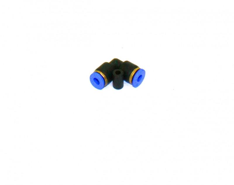 Аварийное соединение L-образное  4мм (пластик) (СТМ S.I.L.A.) АС L-4