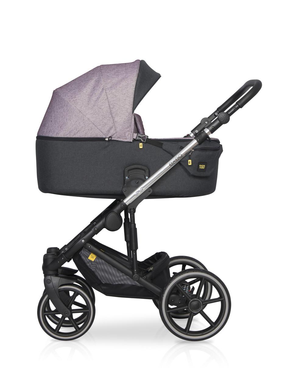 Детская универсальная коляска 2 в 1 Riko Exeo 02 Purple