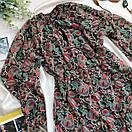 Шифоновое женское платье с рюшем, фото 2