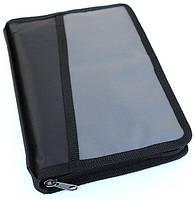 Чехол 063 черно-серый для книги 145х215х40 мм.