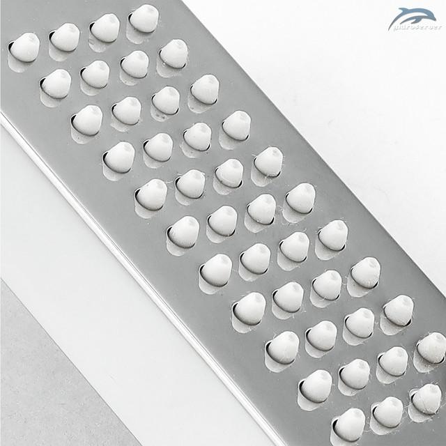 Душова насадка для ручного душу LRL-01 з еластичними розпилювачами зі зносостійкої, термостійкої силіконової гуми.