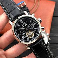 Мужские механические часы Jaragar 540 Black-Silver-Black с автоподзаводом