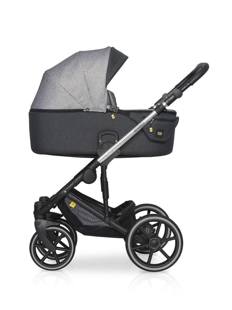 Детская универсальная коляска 2 в 1 Riko Exeo 05 Carbon