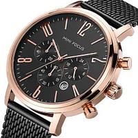 Часы мужские Mini Focus MF0183G.03 Black-Cuprum-Black