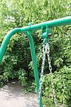 Качели садовые, лавка на цепях., фото 5