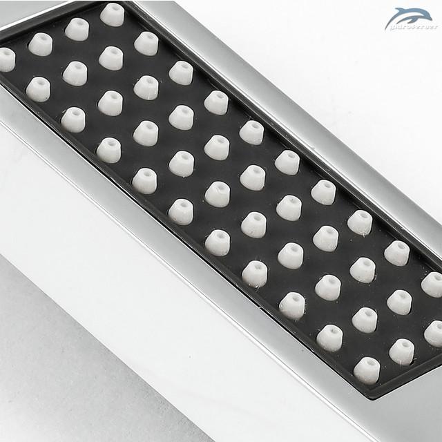 Душова лійка для ручного душу LRL-02 з еластичними розпилювачами зі зносостійкої, термостійкої силіконової гуми.