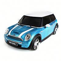 Автомодель Firelap IW04M Mini Cooper 4WD на радиоуправлении, масштаб 1к28 синий SKL17-139670