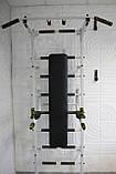 Шведская стенка универсальная, турник с широким и узким хватом., фото 4