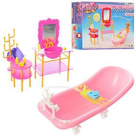 Ванная комната для кукол. Набор аксессуаров. В коробке
