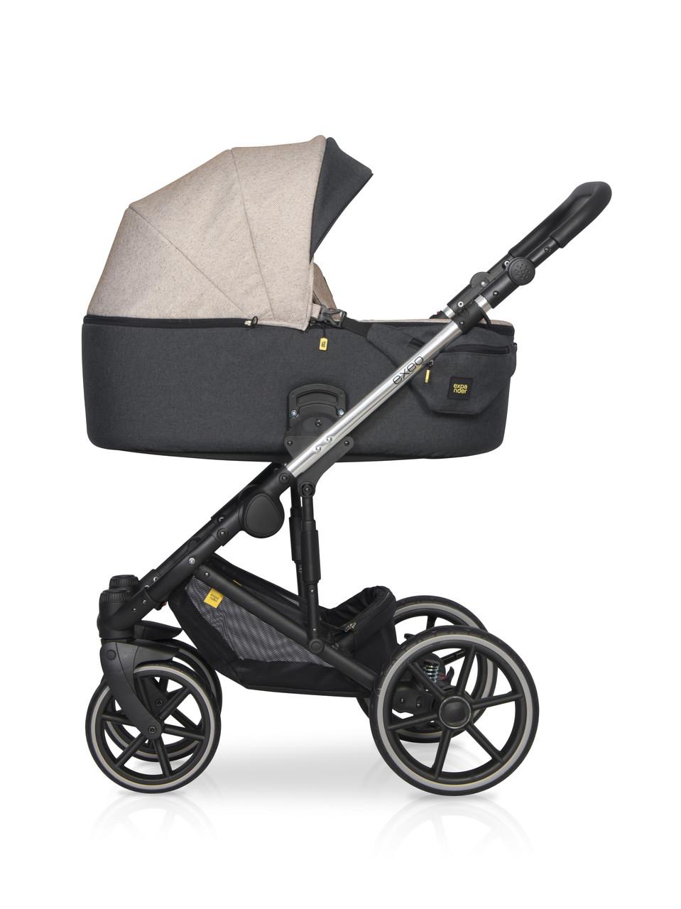 Детская универсальная коляска 2 в 1 Expander Exeo 04 Mocca