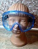 Защитные очки закрытые, фото 4