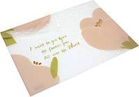 "Папка-конверт ""Axent"" №1495-10 A4+ Fleur на кнопці рожева(12)"