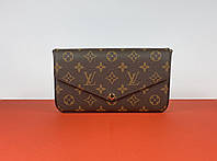 Женский клатч Louis Vuitton Pochette Felicie Monogram (Луи Виттон Пошет Фелиция) арт. 03-04, фото 1