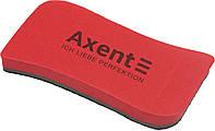 "Губка для дошки ""Axent"" Wave магнітна,червона №9805-04-А(12), фото 1"