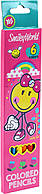 """Олівці кольор. 6 кольор. """"Yes"""" №290406 Smiley World(blue), фото 1"""