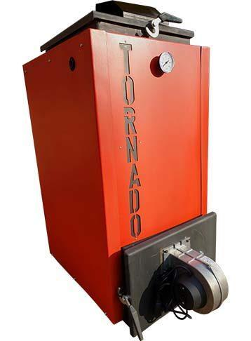 Шахтний котел Холмова з автоматичним контролером і турбіною піддування TORNADO (ТОРНАДО) 12 КВТ