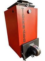 Шахтний котел Холмова з автоматичним контролером і турбіною піддування TORNADO (ТОРНАДО) 12 КВТ, фото 1
